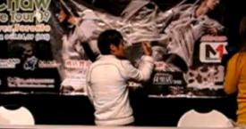 Gary Chaw autograph session @ Market Village (Toronto) 2009